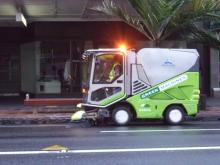 お宝広告館 【まれにみるみれにあむ】-清掃車