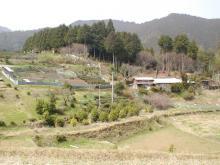 古道からの景色