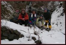 ロフトで綴る山と山スキー-不動滝