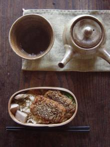 ごぼうと蓮根の蒲焼き弁当