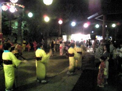 風渡野天神社_夏祭り2