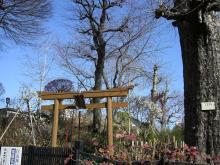 白山富士塚