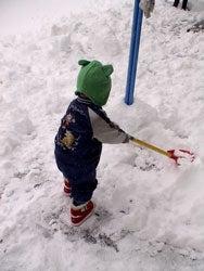 雪かき師匠