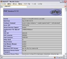 PHP情報