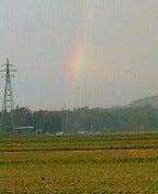 虹見えるかな?