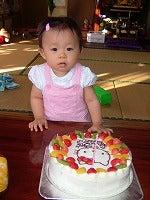 キティちゃんのケーキ♪