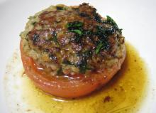 トマト肉詰め