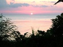 sunset in OKINAWA