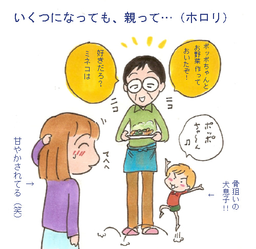 こんな男要らねぇ!!              箱ミネコの離婚日記(暴走)-甘ったれ