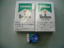 タバコ、のど飴
