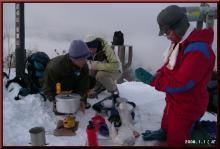 ロフトで綴る山と山スキー-屠蘇&雑煮