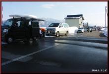 ロフトで綴る山と山スキー-車列は増える