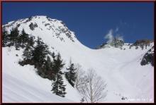 ロフトで綴る山と山スキー-焼岳全容