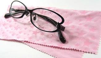 メガネ拭き 洗顔