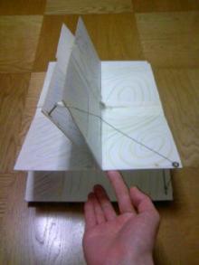 妄想印象派 あるいは、文化的引きこもり-縦と横にめくる絵本(仕組み2)1998~1999年