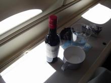 機内食 ワイン