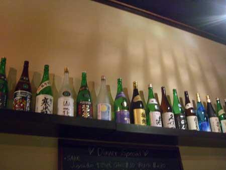 日本酒もいっぱい!