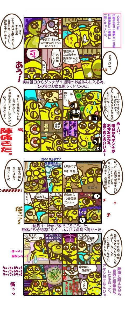 ウサギ浴~4コマ漫画~