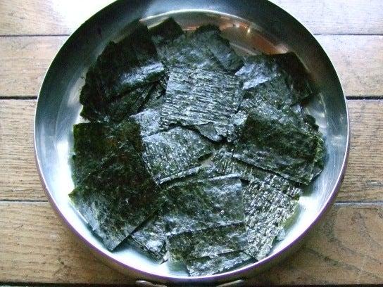 海苔の佃煮のレシピ