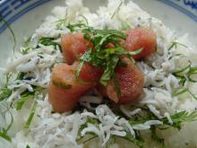 しらす明太丼1