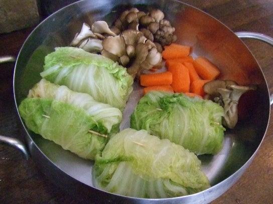 鮭の白菜ロールの画像