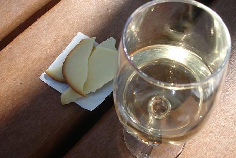 ワイン&チーズ